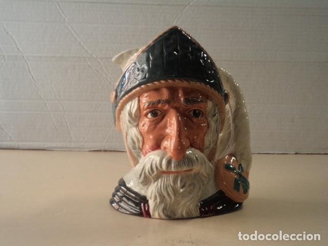 CHARACTER TOBY JUG - JARRA DON QUIXOTE (QUIJOTE) - ROYAL DOULTON (Antigüedades - Porcelanas y Cerámicas - Inglesa, Bristol y Otros)