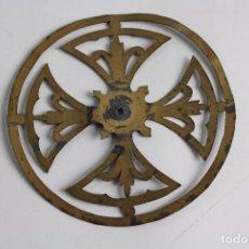 Antigüedades: CORONA PARA NIÑO JESUS. METAL DORADO. S.XIX.. Lote 83491996
