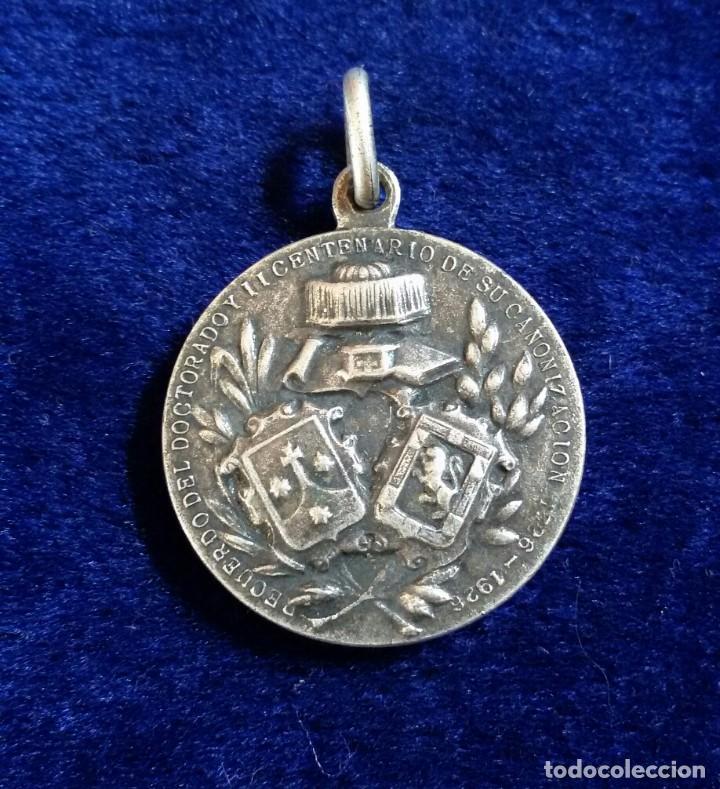 Antigüedades: medalla religiosa plata s.joannes a cruce dr.eccles 1726-1926 - Foto 2 - 83542664