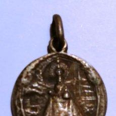 Antigüedades: MEDALLA NUESTRA SEÑORA DE COVADONGA (ASTURIAS) 17MM.. Lote 83593740