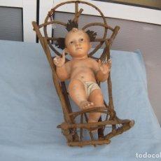 Antigüedades: NIÑO JESÚS ARTE MODELO OLOT. Lote 90953638