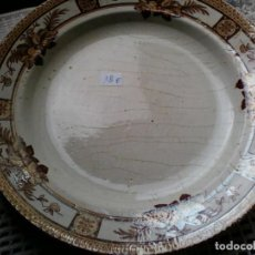 Antigüedades: PLATO LA ASTURIANA GIJÒN . POLA Y COMPAÑÍA. Lote 83623524