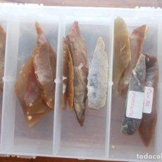 Antigüedades: PUNTAS DEL PALEOLITICO SUPERIOR. Lote 83665752