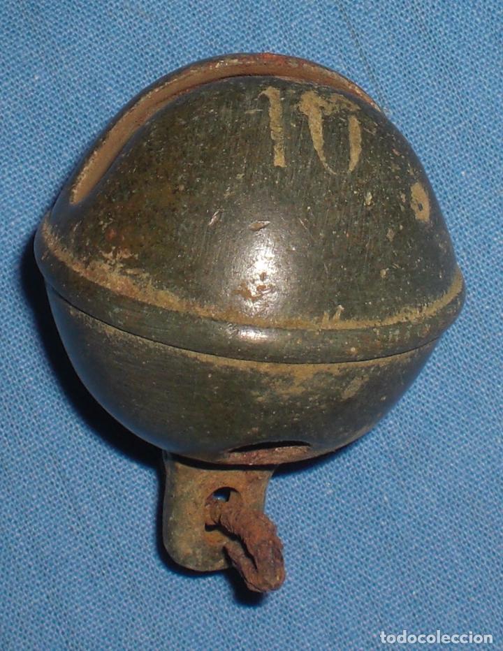 Antigüedades: Cascabel de buey preciosa pátina - Foto 3 - 83690564