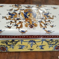 Antigüedades: CAJA PORCELANA CHINA ANTIGUA DINASTIA CHING PERIODO CHIEN LUNG. Lote 83706842