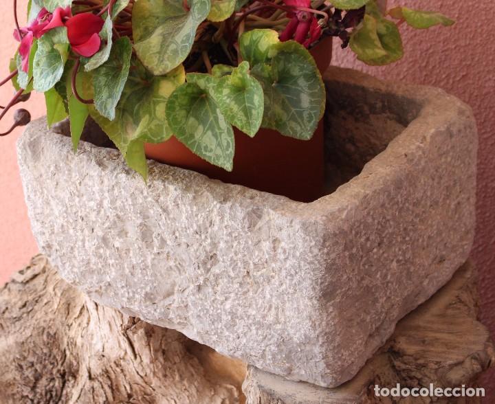 antigua fuente pica pila de piedra para comprar