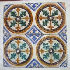 Antigüedades: PAREJA DE AZULEJOS SIGLO XVIII (TRIANA). Lote 83745564