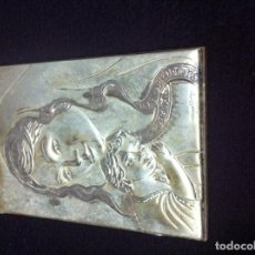 Antigüedades: PLACA EN PLATA . Lote 83766812