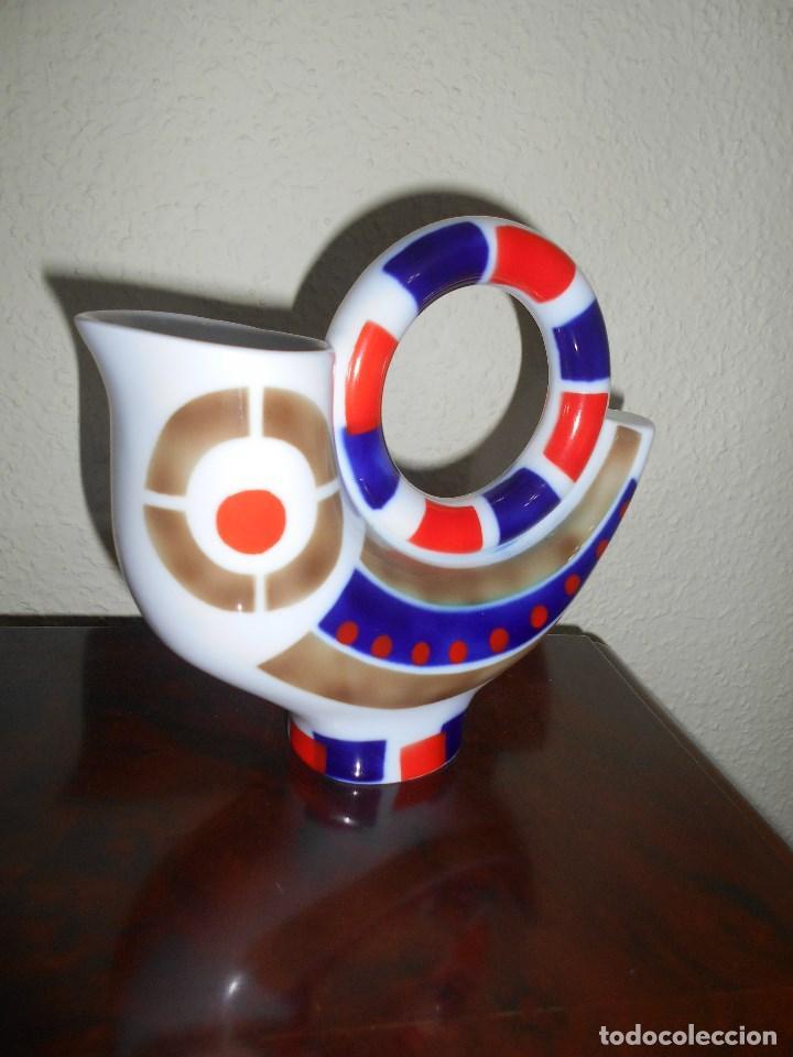 PIEZA PORCELANA DE SARGADELOS JARRA O BOTIJO (Antigüedades - Porcelanas y Cerámicas - Sargadelos)