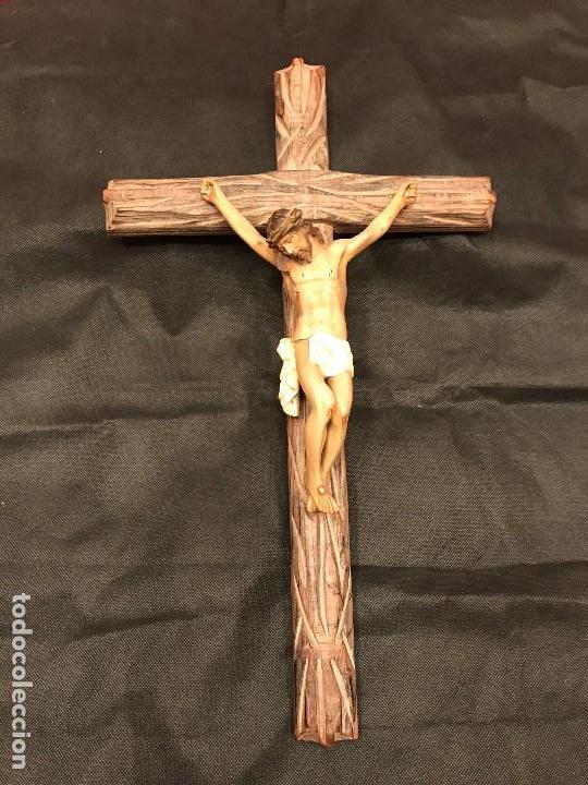 Antigüedades: Crucifijo vintage - Foto 3 - 83811324
