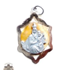 Antigüedades: ANTIGUA MEDALLA RELIGIOSA DE LA VIRGEN. Lote 83852496