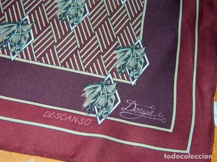 PAÑUELO DORYA ITALY (Antigüedades - Moda - Pañuelos Antiguos)