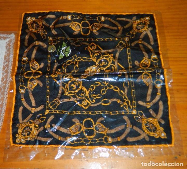 Antigüedades: LOTE Pañuelos Antiguos - Foto 3 - 83855372