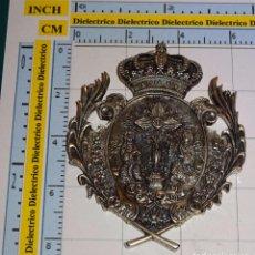 Antigüedades: MEDALLA MEDALLÓN RELIGIOSO. HERMANDAD SANTÍSIMO CORPUS CHRISTI DE SEVILLA. 70 GR. Lote 83870384