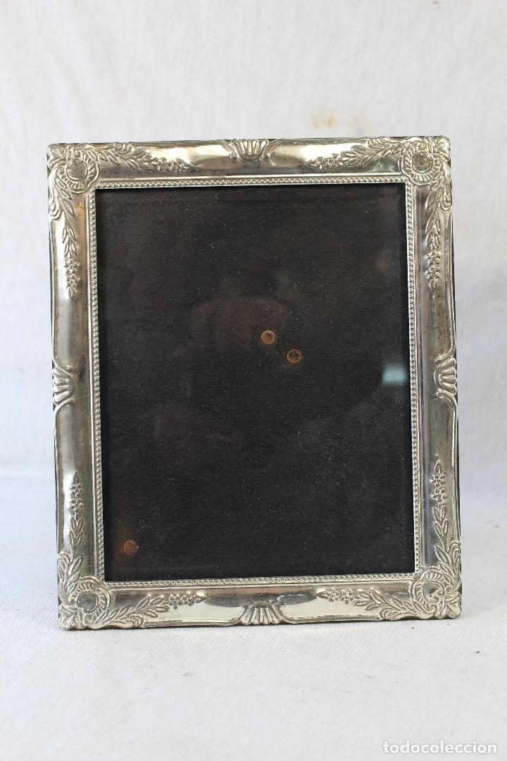 PORTAFOTOS PLATEADO (Antigüedades - Hogar y Decoración - Portafotos Antiguos)