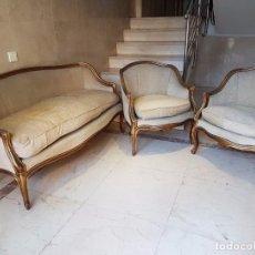 Antigüedades: PRECIOSO TRESILLO INGLES. Lote 83910064
