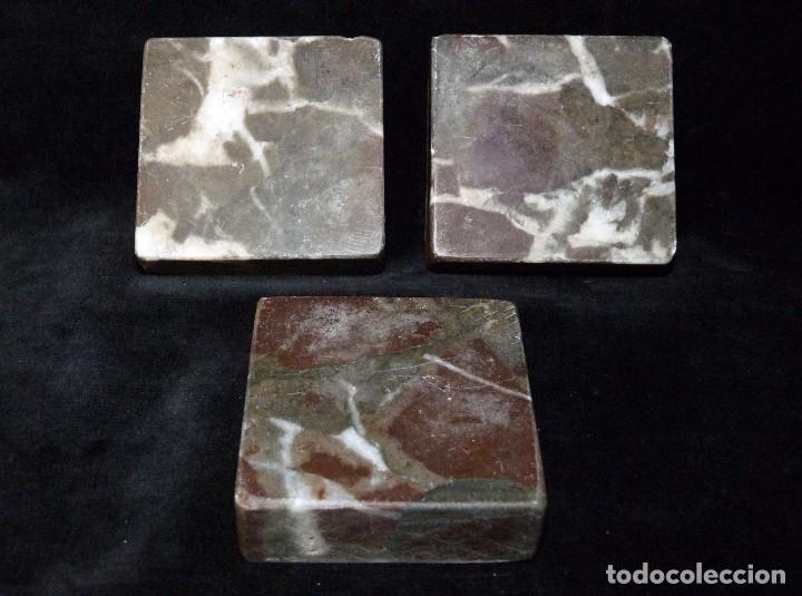 lote de 3 protectores marmol. cuadrados. aislan - Comprar ...