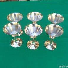 Antigüedades: COPAS DE ALPACA. Lote 83921507