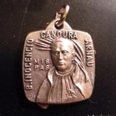 Antigüedades: MEDALLA INOCENCIO CANOURA ARNAU. Lote 83946276