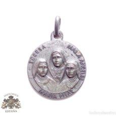 Antigüedades: MEDALLA RELIGIOSA TERESA, MARIA ANGELES,MARIA PILAR-BEATAS MARTIRES CARMELITAS DESCALZAS GUADALAJARA. Lote 83952472