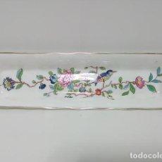 Antigüedades: PEQUEÑA BANDEJA PORCELANA INGLESA AYNSLEY. Lote 83965184