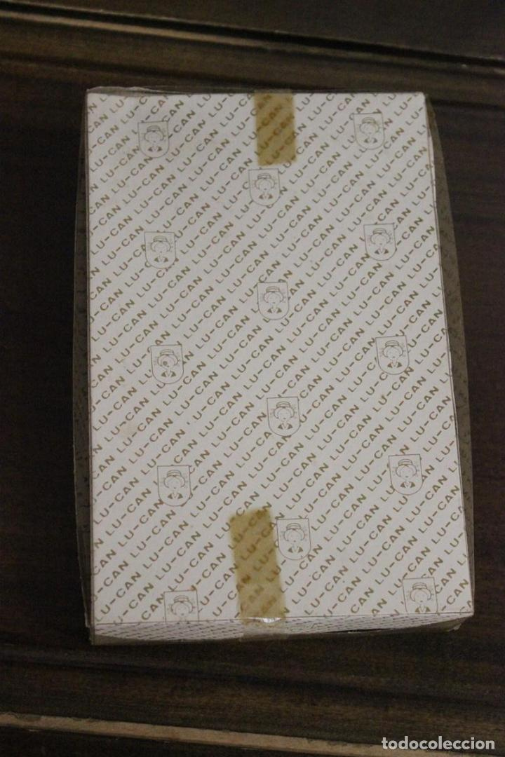 Antigüedades: Estuche sin abrir con 2 pañuelos Lu-can - Foto 4 - 83968792