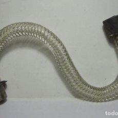 Antigüedades: REPUESTO LAMPARA. BRAZO DE LAMPARA DE ARAÑA. CRISTAL.. Lote 84032040