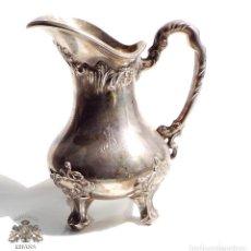 Antigüedades: JARRITA DE PLATA DE LEY 255 GRAMOS - 14 CM DE ALTO. Lote 132336230