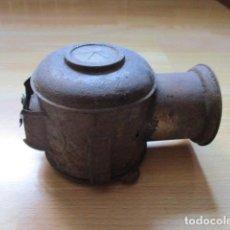 Antigüedades: LAMPARA DE MINA MUY ANTIGUA . Lote 84135288