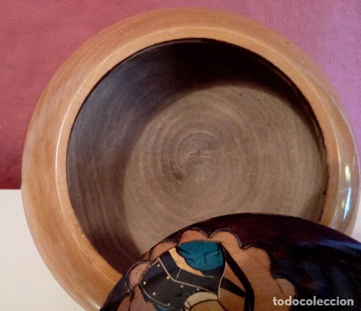 Antigüedades: CAJA - JOYERO HOLANDESA EN MADERA DE HAYA PINTADA A MANO Y FIRMADA. - Foto 7 - 84144832