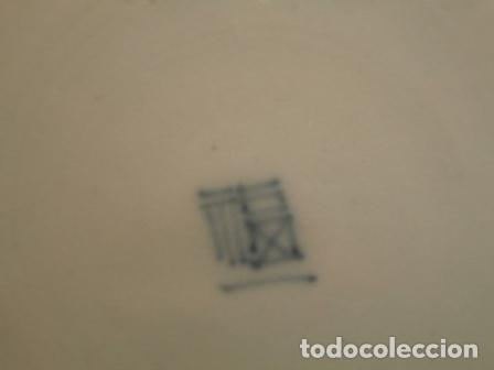Antigüedades: Plato porcelana Japonesa IMARI ( KUTANI s. XIX ) - Foto 5 - 84150116