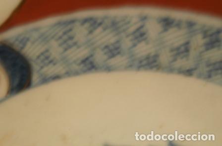 Antigüedades: Plato porcelana Japonesa IMARI ( KUTANI s. XIX ) - Foto 6 - 84150496