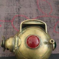 Antigüedades: EXCEPCIONAL FAROL DE COCHE AÑOS 20 30 BESNARD VER DETALLE. Lote 84162194