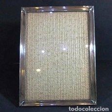 Antigüedades: ANTIGUO MARCO DE ALPACA . Lote 84179576