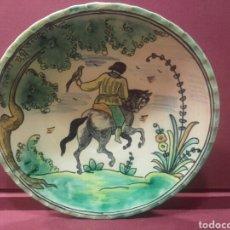 Antigüedades: PLATO DE PUENTE DEL ARZOBISPO , MEDIDAS 26 CM. Lote 84185678