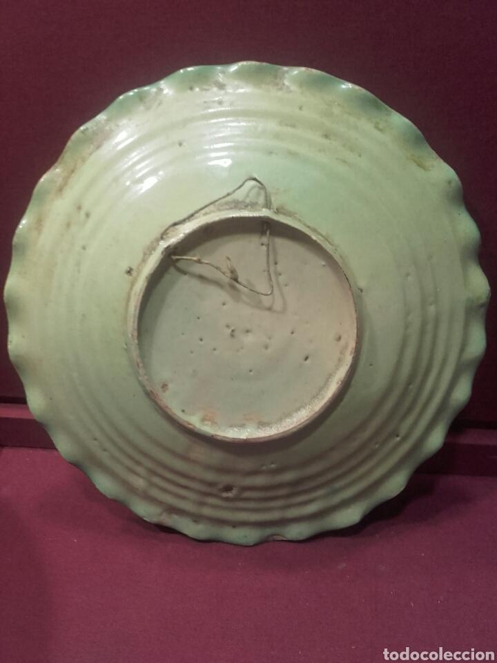 Antigüedades: Pareja de platos de Puente del Arzobispo. - Foto 4 - 84186095