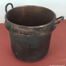 Antigüedades: OLLA / CALDERO. COBRE. ASAS EN COBRE. ESPAÑA. SIGLO XVIII-XIX. . Lote 84213672