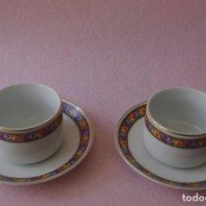 Antigüedades: LOTE DE 2 TAZAS DE CAFE EPIAG / LOT OF 2 EPIAG COFFEE CUPS. Lote 84219124