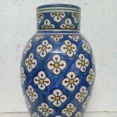 Antigüedades: JARRON DECORADO A MANO. Lote 84280212