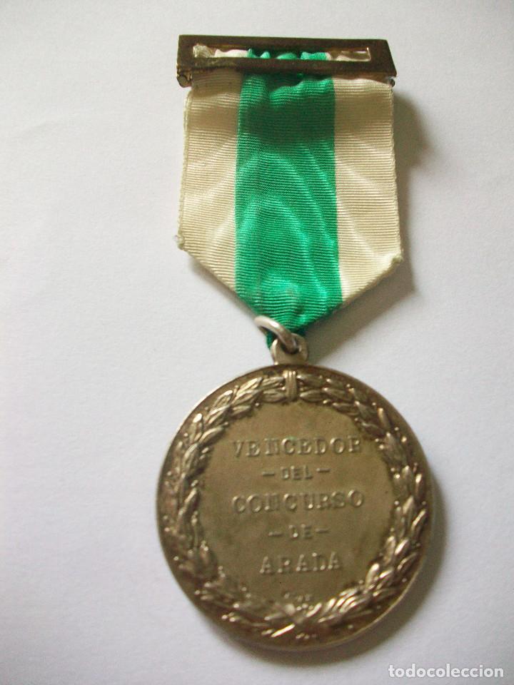 Antigüedades: medalla de San Isidro Labrador - Foto 2 - 84293048