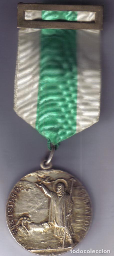 Antigüedades: medalla de San Isidro Labrador - Foto 3 - 84293048