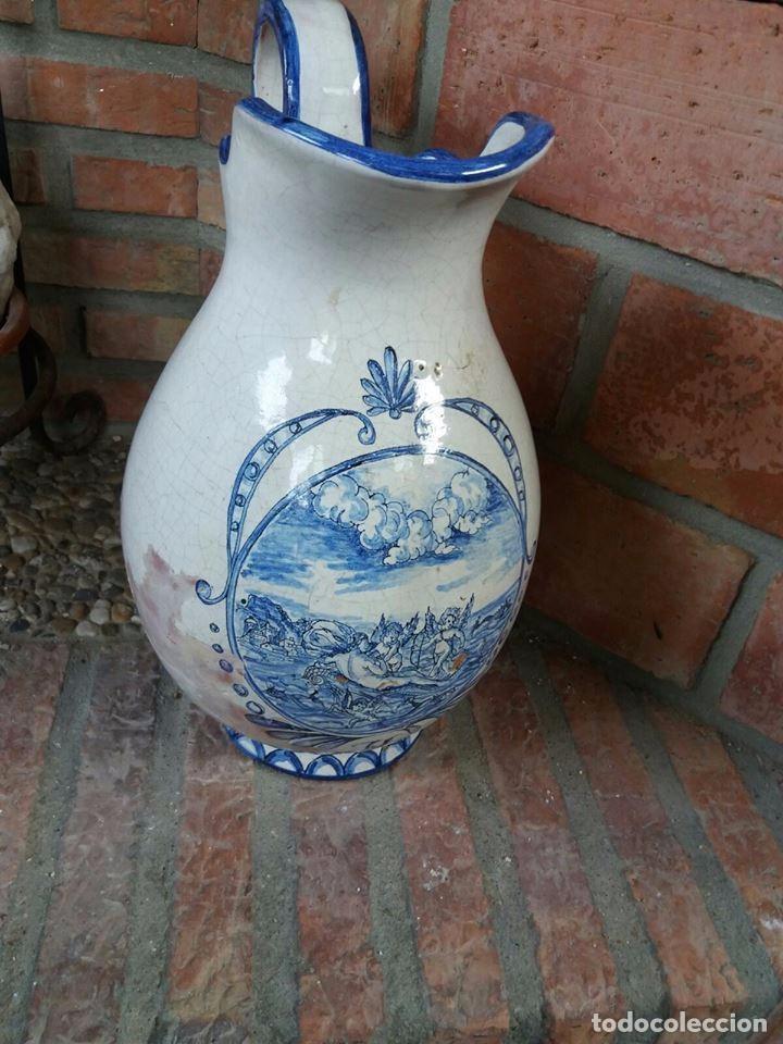 JARRON ANTIGUO TALAVERA (Antigüedades - Porcelanas y Cerámicas - Talavera)