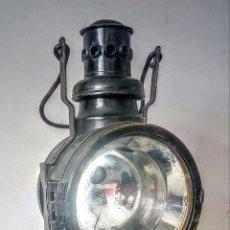 Antigüedades: FAROL ALEMAN FERROVIARIO J.C.GIESSING 1942 NUREMBERG. Lote 84299648