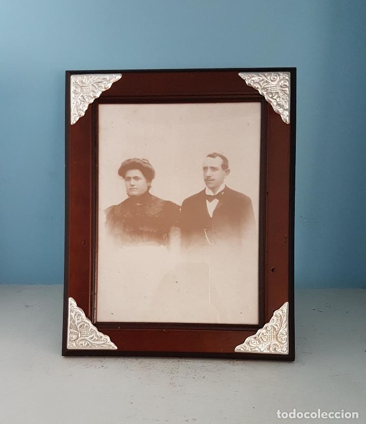 elegante marco antiguo italiana en madera y pla - Comprar Marcos ...