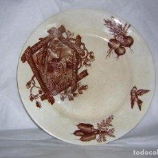 Antigüedades: PLATO DE POLA GIJON - 2. Lote 84315536