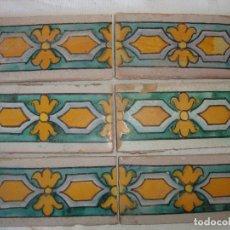 Antigüedades: AZULEJOS CENEFAS RAMOS REJANO. Lote 84393104