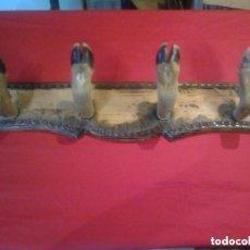 Antigüedades: PERCHA DE 4 PATAS ,MUY BONITO Y ANTIGUO COLGADOR,. Lote 84401656