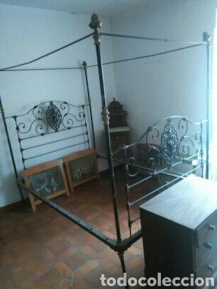 CAMA DE DOSEL (Antigüedades - Muebles Antiguos - Camas Antiguas)