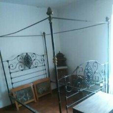 Antigüedades: CAMA DE DOSEL. Lote 84417127