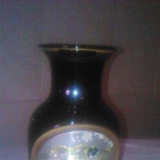 Antiguidades: PRECIOSO JARRON DE PORCELANA DECORADO CON METALES PRECIOSOS ORO Y PLATA .THE ART OF CHOKIN JAPÓN.60S. Lote 84459976